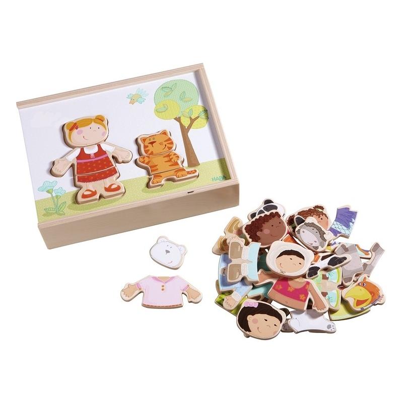 Puzzle en bois Les enfants du monde Haba