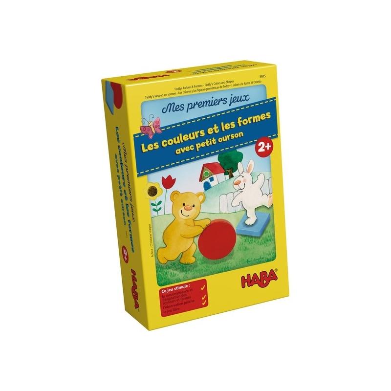 Mes premiers jeux Haba – Les couleurs et les formes avec petit ourson