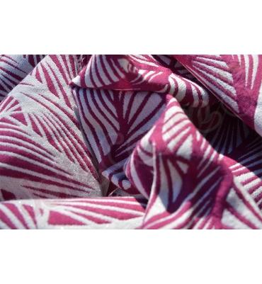 Yaro Magnetic Contra Purple White Wool Glam - Jolie Cerise