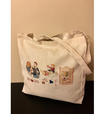 Tote Bag Jolie Cerise
