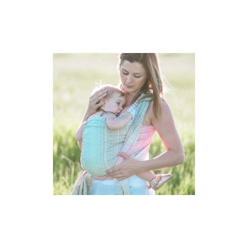 Echarpe de portage Didymos Prima Aurora - Jolie Cerise