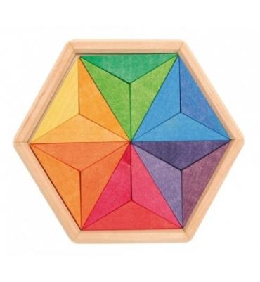 Puzzle étoile Grimm's - Jolie Cerise
