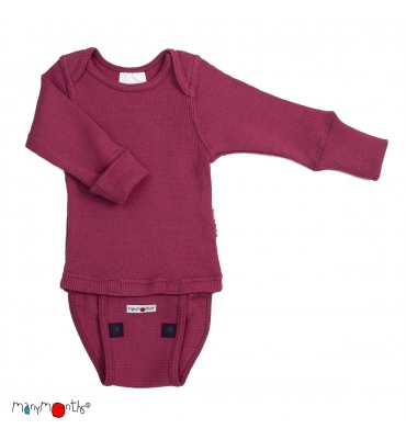 Body/Shirt Frosted Berry Manymonths - Jolie Cerise
