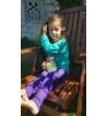 Legging Prism Violet Pink Woolly - Jolie Cerise