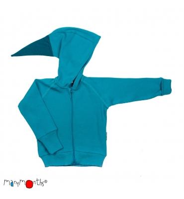 Veste Zip Royal Turquoise Manymonths - Jolie Cerise