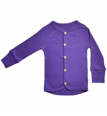 Cardigan Prism Violet Pink Woolly - Jolie Cerise