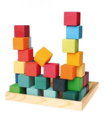 36 cubes Grimm's - Jolie Cerise