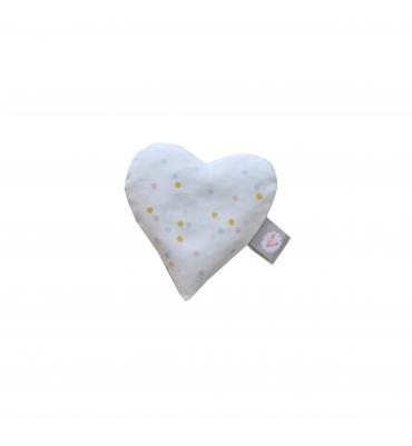 Bouillotte sèche Coeur Carotte & Cie - Jolie Cerise