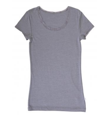 T-Shirt Femme Gris Joha - Jolie Cerise