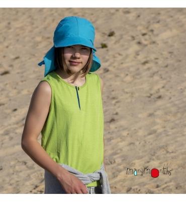 Tee-shirt sans manches Manymonths Gooseberry Green - Jolie Cerise