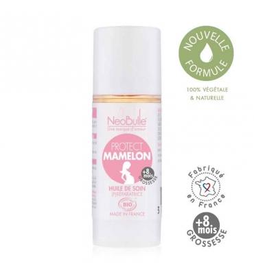 Protect Mamelon, huile de soin Néobulle - Jolie Cerise