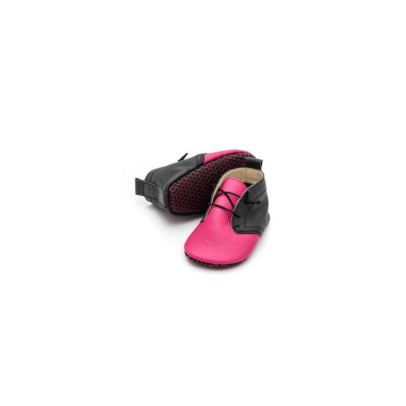 Liliputi® Soft Baby Shoes Urban Flamingo - Jolie Cerise
