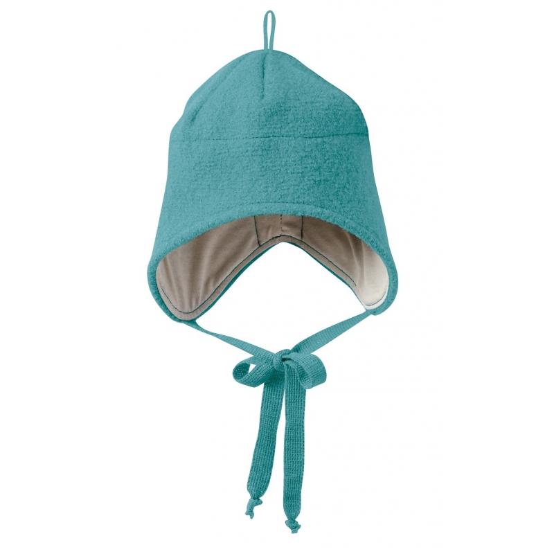 Bonnet laine bouillie Disana Lagon