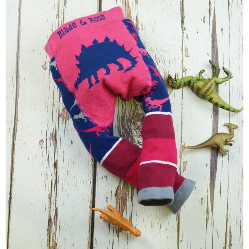 Legging Blade & Rose - Pink Stegosaurus