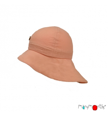 Chapeau Manymonths Light Peach Rose - Jolie Cerise