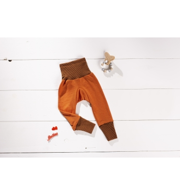 Pantalon Cosilana Orange - Jolie Cerise